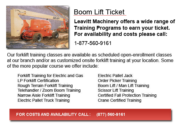 Vancouver Boom Lift Ticket