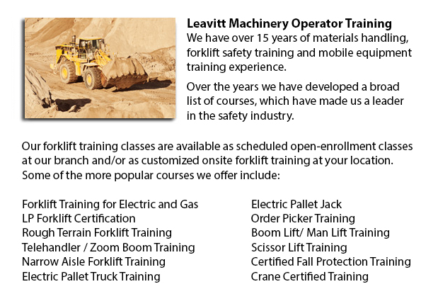 Wheel Loader Operator Training Seattle