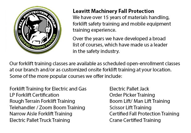 Fall Protection Ticket Vancouver